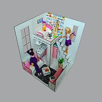 7002ROOMBOX №2 Пентхаус с мебелью, фото 1