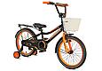 """Детский велосипед CROSSER ROCKY 18""""  Черный/Оранжевый, фото 2"""