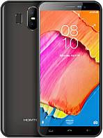 "Смартфон Homtom S17 Grey 2/16Gb, 8+2/5Мп, 4 ядра, 2sim, экран 5.5"" IPS, 3000mAh, GPS, 3G, MT6580, фото 1"