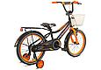 """Детский велосипед CROSSER ROCKY 18""""  Черный/Оранжевый, фото 3"""