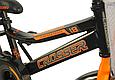 """Детский велосипед CROSSER ROCKY 18""""  Черный/Оранжевый, фото 4"""