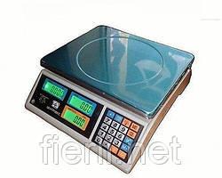 Весы торговые ВТЕ-Центровес- 15Т1-ДВ-(ЖК) 15 кг