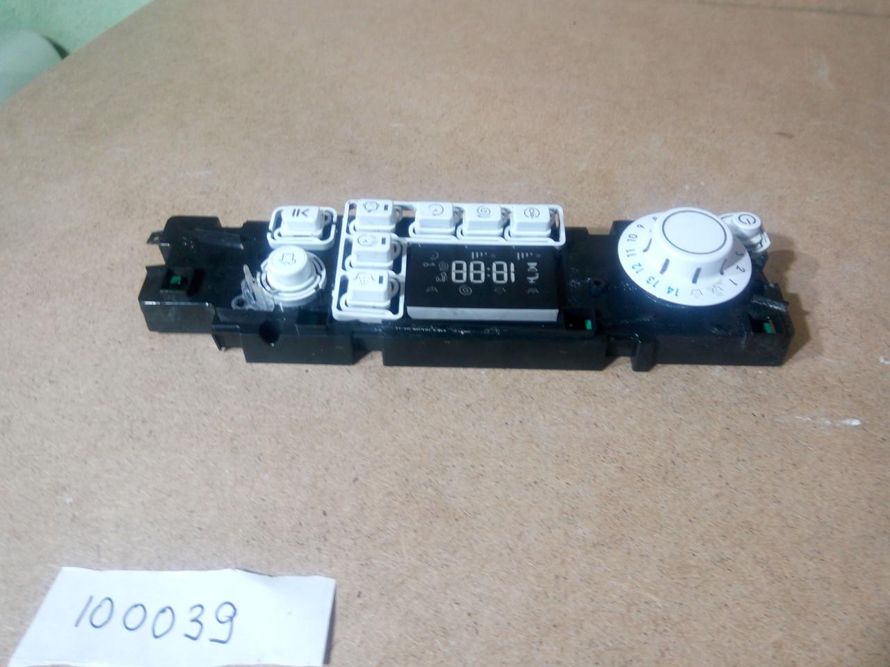 Модуль індикації Ariston WMSG605 б\у 16200257102