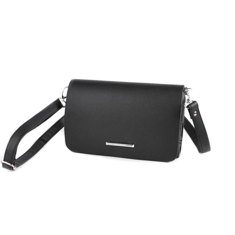 76b20815bec7 Черная маленькая сумка-клатч М63-48 на плечо: продажа, цена в Днепре ...