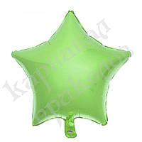Шарик (45см) Звезда морской зеленый