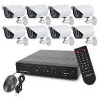 Домашний видеорегистратор комплект 8 канальный
