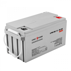 Аккумулятор мультигелевый AGM LPM-MG 12 - 80 AH LogicPower, фото 2