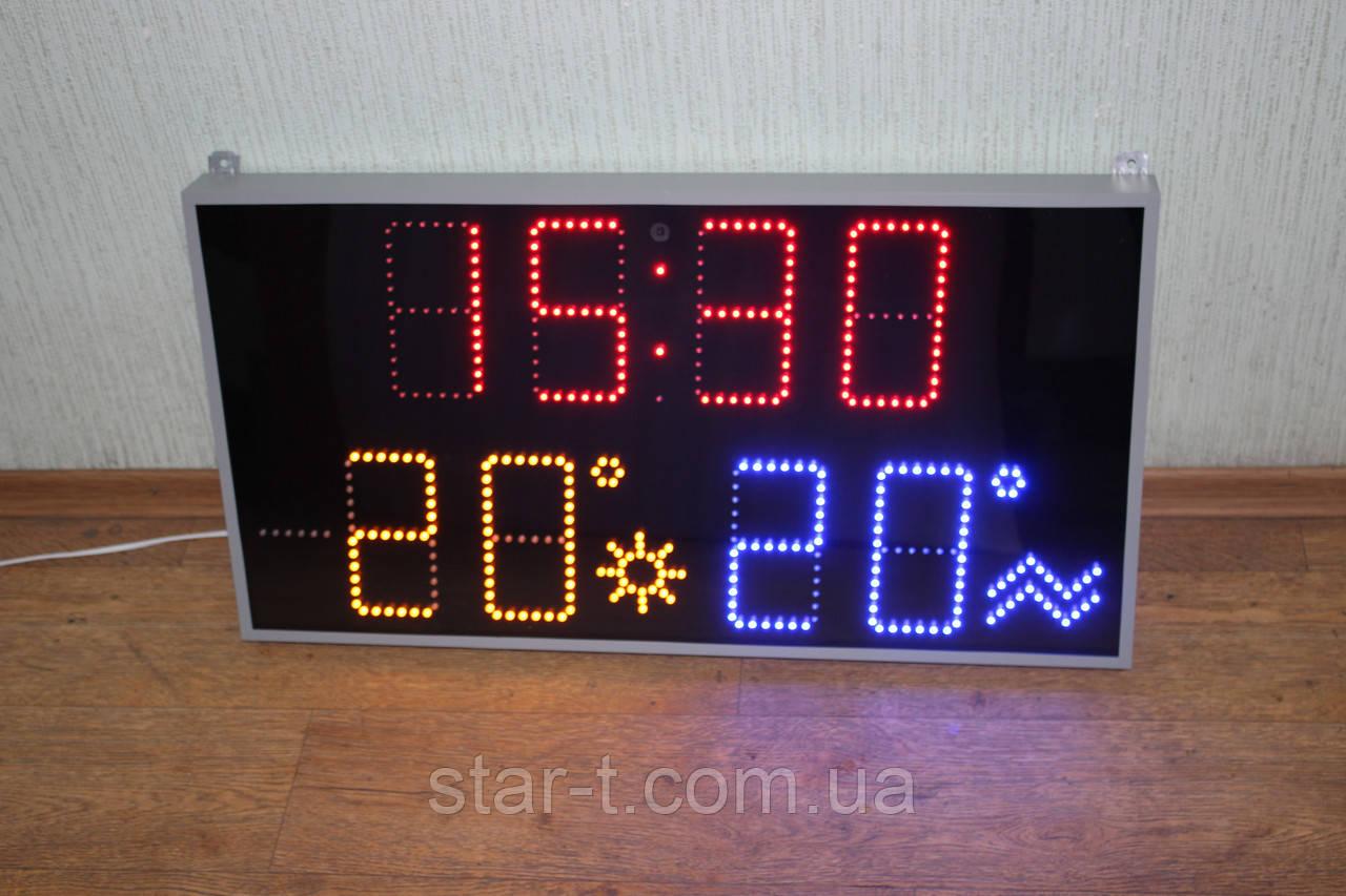 Часы для басейна плюс два термометра.