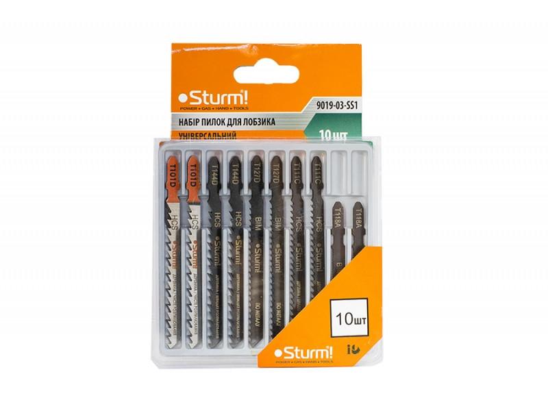 Набор пилок для электролобзика (10шт) Sturm