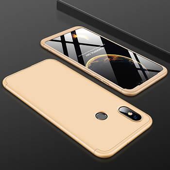 Пластиковая накладка GKK LikGus 360 градусов для Xiaomi Mi 8