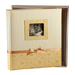 Альбом CHAKO 32*34 KC-50XL/BG SILVIA K1175 100 burgundy pages BOX (золото)