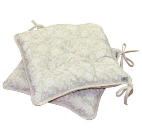 Подушка на стул White Rose