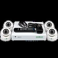 Комплект видеонаблюдения Green Vision GV-K-S12/04 1080P