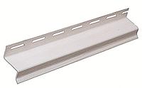 Планка навесная FaSiding белая 3,66м