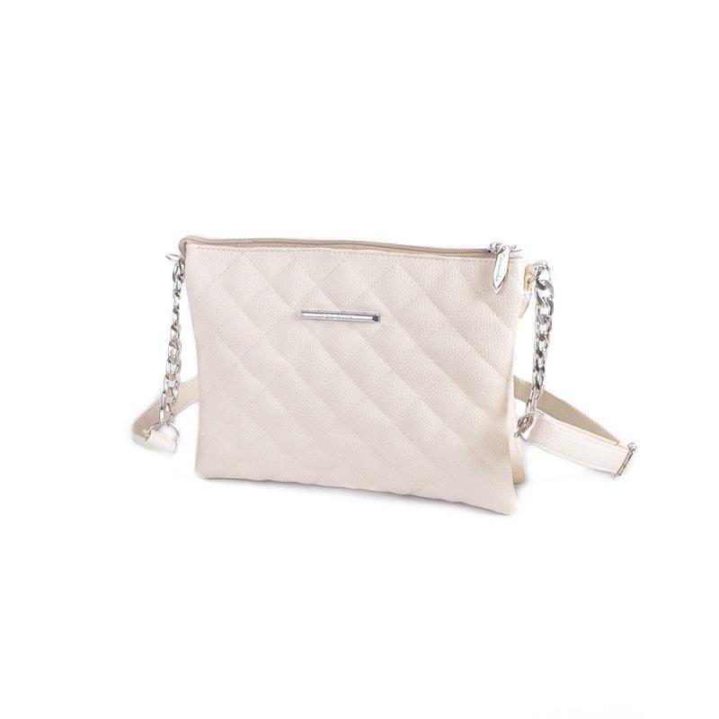 af807b857af4 Маленькая сумка-клатч М202-64 через плечо бежевая на молнии: продажа ...