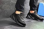 Мужские кроссовки Adidas Sharks (черные), фото 2