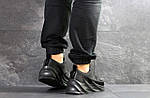 Мужские кроссовки Adidas Sharks (черные), фото 3
