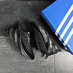 Мужские кроссовки Adidas Sharks (черные), фото 6