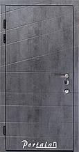 Двери квартирные, серия Элит, модель Диагональ 2/Канзас, гнутый профиль, коробка 150 мм, MOTTURA