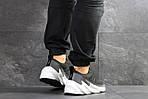 Мужские кроссовки Adidas Sharks (серо-белые), фото 2