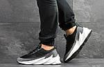 Мужские кроссовки Adidas Sharks (серо-белые), фото 4