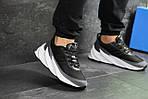 Мужские кроссовки Adidas Sharks (серо-белые), фото 3