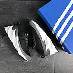 Мужские кроссовки Adidas Sharks (серо-белые), фото 5