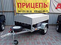 Прицеп для легкового автомобиля - Сантей 750-131, фото 1