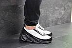 Мужские кроссовки Adidas Sharks (бело-черные), фото 5