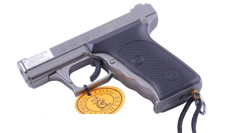 Зажигалка пистолет 3982, фото 2