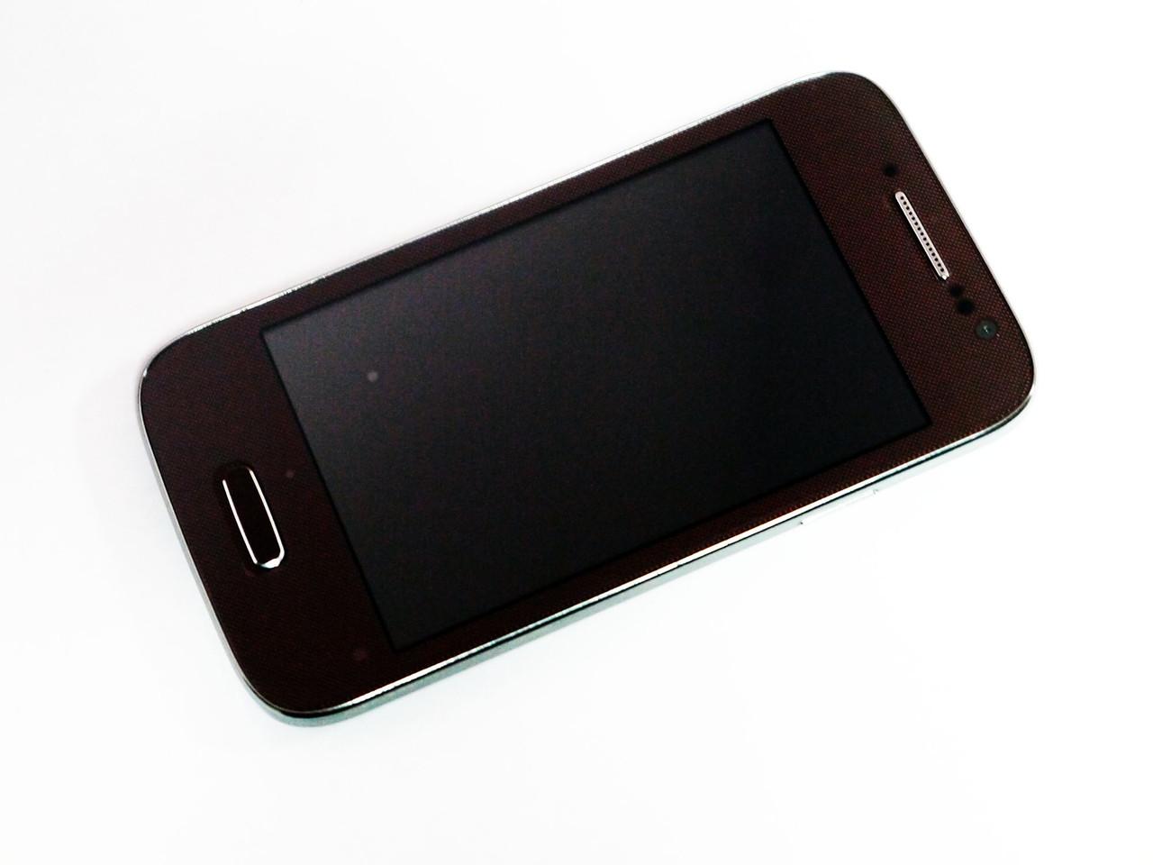 "Телефон Samsung S4 GT-I9500 mini, 2Sim + 4"" +Android 4, WiFi"