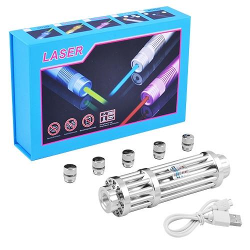 Лазер YX-B017, 5 насадок, ЗУ