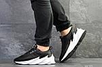Мужские кроссовки Adidas Sharks (черно-белые), фото 4