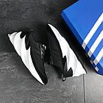 Мужские кроссовки Adidas Sharks (черно-белые), фото 6