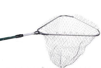 Подсак треугольный рыболовный 80 ×80(кордовая нить)
