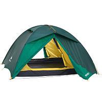 Палатка 3-местная туристическая, самонесущая конструкция с дугами  quechua (быстрая сборка), фото 1