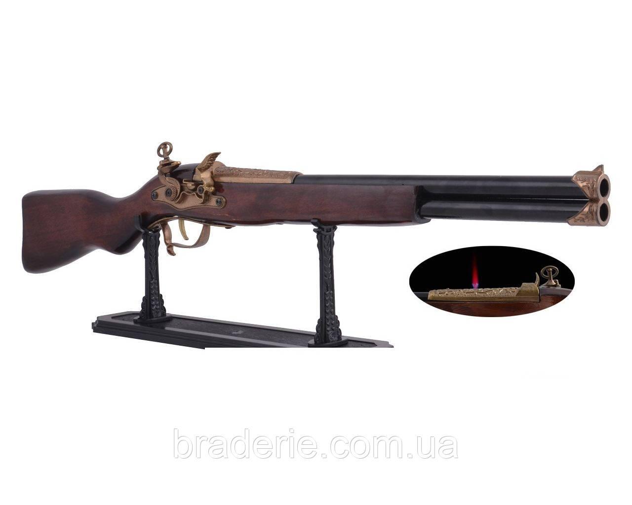 Зажигалка ружье 2062