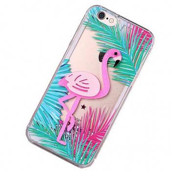 "Пластиковая накладка Shine Flamingo для Apple iPhone 7 / 8 (4.7"")"