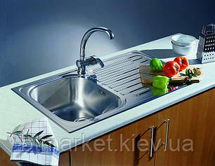 Кухонная мойка PYRAMIS AMALTIA (79*50) 1B 1D (92 mm), фото 2