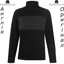 Кофта флисовая мужская Pierre Cardin из Англии - для прогулок черно коричневая