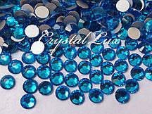 Стразы Lux ss16 Capri Blue (4.0mm) 1440шт