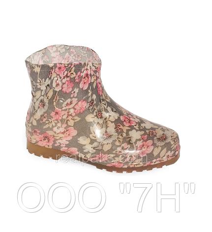 """Ботинки женские """"Пуговка-силикон"""" цветные, фото 2"""