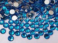 Стразы Lux ss16 Capri Blue (4.0mm) 100шт
