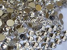 Стразы Lux ss16 Crystal (4.0mm) gold foil 100шт