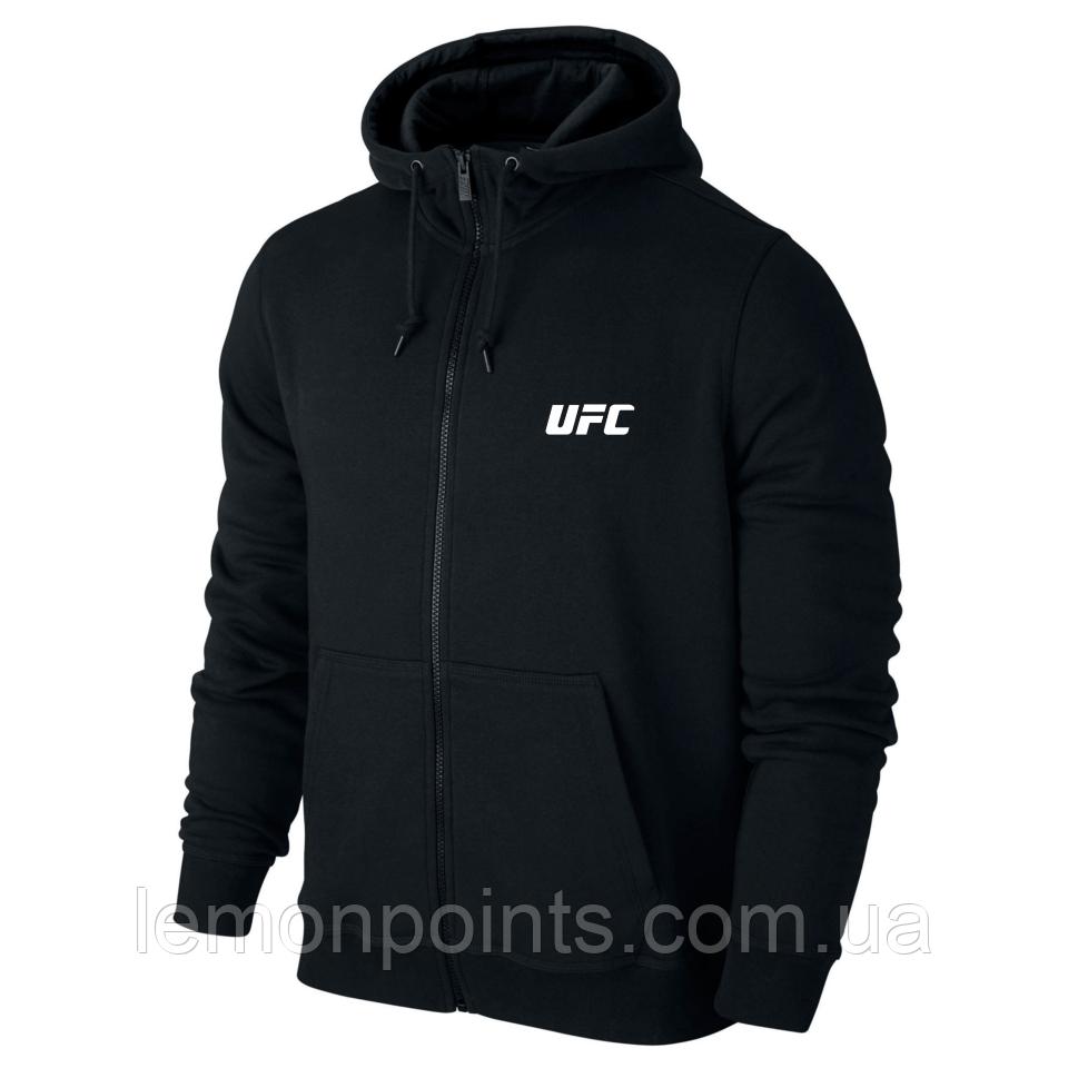 Толстовка з капюшоном, худі, кенгурушка на змійці UFC E250