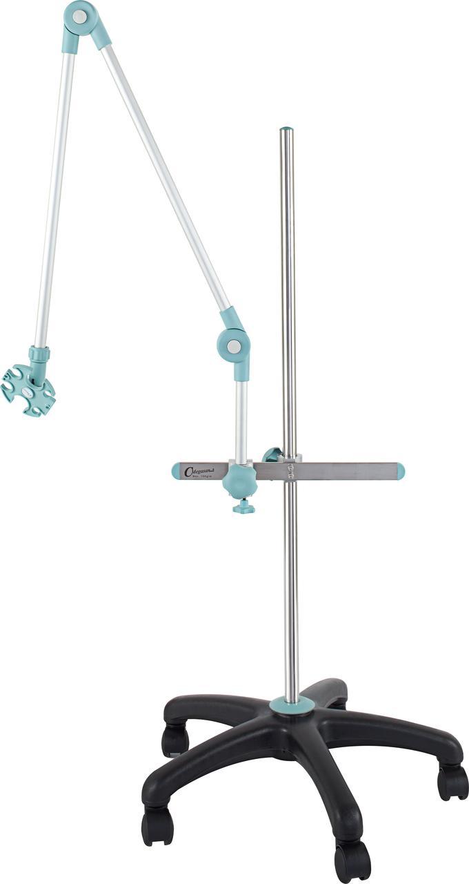Тележка-лампа на шарнирах с корзинкой