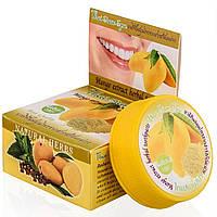 Тайская натуральная отбеливающая зубная паста Манго (Rochjana, Таиланд), 30 грамм