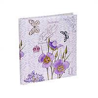 Фотоальбом 20 Sheet 9821 Assort violet flower