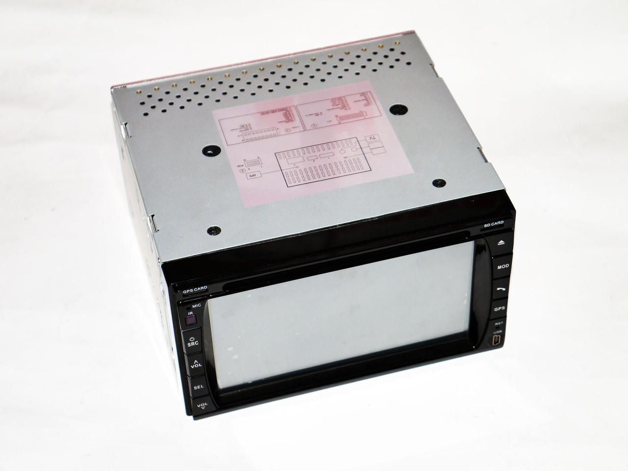 """Магнитола Pioneer Pi999 2din GPS 6,5"""" DVD + USB + TV + Bluetoth"""