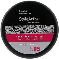 Мягкий моделирующий воск сильной фиксации Erayba S05 Extreme Wax 90 мл